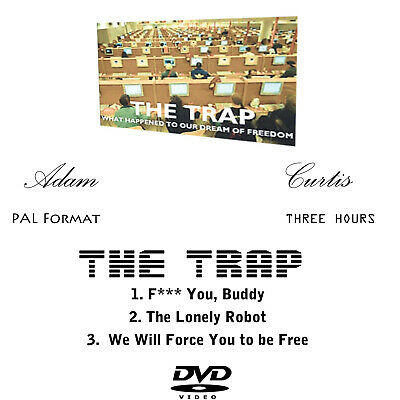 The Trap: What Happened to Our Dream-Freedom-Adam Curtis-DVD in paper sleeve-PAL