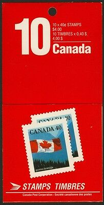 Canada 1169b Booklet BK124 MNH Flag over Mountains