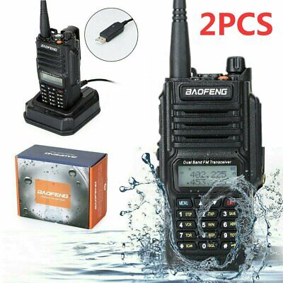 BAOFENG UV-5RE VHF/UHF Portable Police Fire Transceiver Dual-band Walkie Talkies