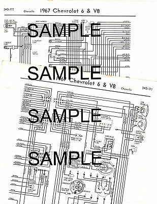 1964 1965 chevrolet corvair 6 cyl greenbrier 64 65 wiring diagram chart