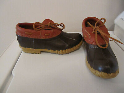 31d8e6731fa CABELA'S LEATHER / Rubber Duck Boots Shoes Ankle Length Size 9 Great ...