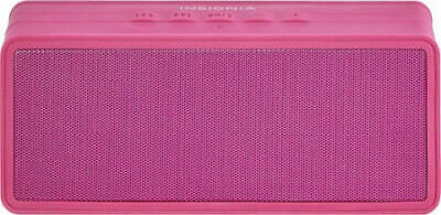 Insignia Portable Bluetooth Stereo Speaker berry NS-SPBTBRICK-BY with power Bank