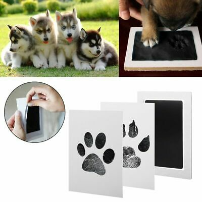 1Set Baby Handprint And Footprint Ink Pads Paw Print Ink Kit For Babies And Pets