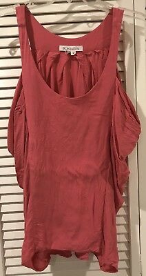 d3043ea58dbfc BCBGENERATION WOMEN S PINK High Low Tank Top Size S Small -  20.50 ...