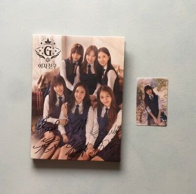 Gfriend Snowflakes All Member Signed Album With Yuju