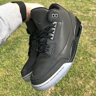 78356fb89ea9 Air Jordan 3 5LAB3 Black-Clear Sz. 9