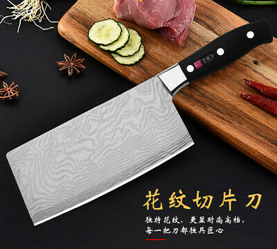 Cleaver Chef Chopping kitchen Butcher knife Stainless steel Knives Cutlery Blade