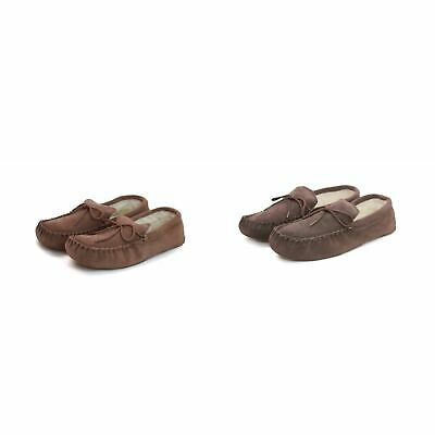 Eastern Counties Leather Unisex Wool-blend Soft Sole Moccasins (EL182)