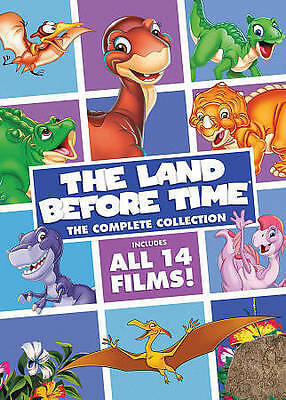 The Land Before Time: The Complete Collection 14 Movie 8 Disc Dvd Set New Kids
