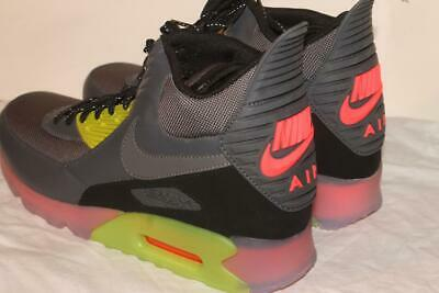 NIKE AIR MAX 90 Ice HW QS Halloween New Size 11 Glow In The
