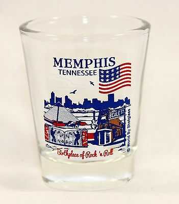 Memphis Tennessee Great American Cities Collection Shot Glass Shotglass