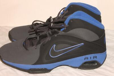 d68fb69a3cb4 Nike Air Visi Pro 3 NBK Men s Basketball Shoes Size 11 Black   Blue Brand  NEW