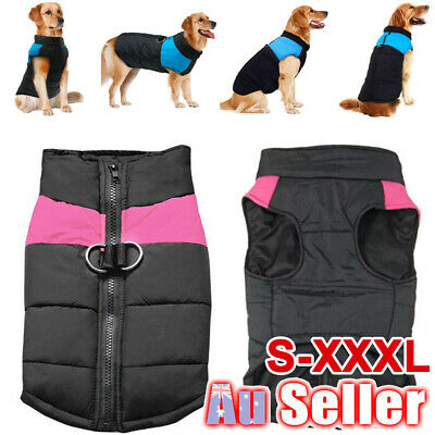 Waterproof Warm Puppy Cat Vest Pet Coat Dog Winter Jacket Costume Clothes S-5XL