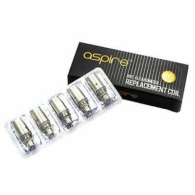 Genuine Aspire BVC K1/K2 Replacement  Coils -  1.6/1.8/2.1 ohm*Trusted Seller*
