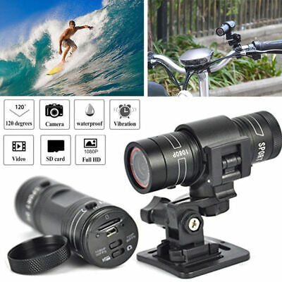 HD 1080p Waterproof Head Camera Camcorder DV For Sport Cam Car Bicycle Helmet