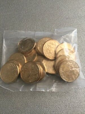 $1 Dollar Coin 2018 & 2019 Mixed Sealed Bag  of Roos & A U S  Coins ***