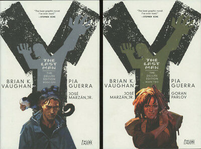 Brian K Vaughan / Y The Last Man Deluxe Edition Book One & Book Two 2 1st 2009