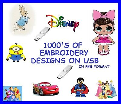 Peter Rabbit On Usb Pes Format Brother, 1000'S Of Designs