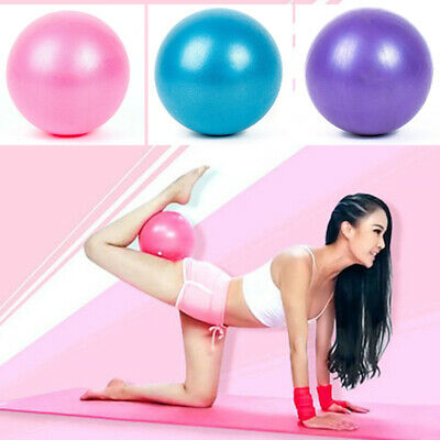 Women's Lady Yoga Exercise Ball Gym Pilates Balance Fitness Air Pump Anti-Burst