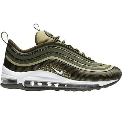 low priced 4a22d d3838 Scarpe Da Uomo Nike Air Max 97 Ultra17 918356-301 Verde Sneakers Sportiva  Nuovo