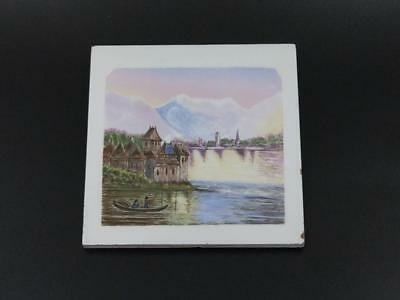 Mintons China Works Stoke Trent tile circa 1883 Luckman