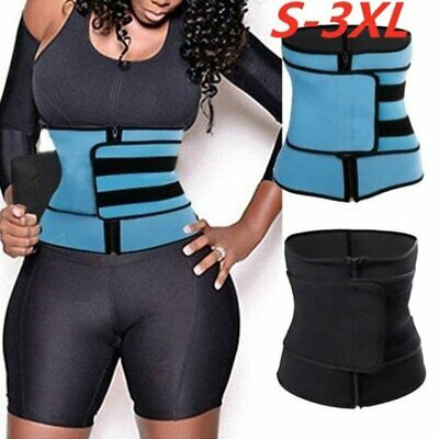 Waist Trainer Cincher Tummy Control Body Shaper Corset Sport Slimming Belt Band