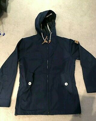 PENFIELD Hudson Mens Wax Cloth Navy Blue Jacket Small Coat Gibson from oipolloi