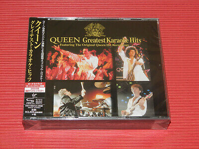 QUEEN GREATEST KARAOKE HITS  (Jewel Case) JAPAN ONLY 2 SHM CD SET
