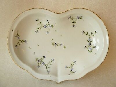 Late 18th Century Fabrique De La Courtille Porcelain Dish