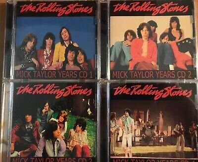 4CD SET The Rolling Stones ‎– Mick Taylor Years 4CD (new & sealed)