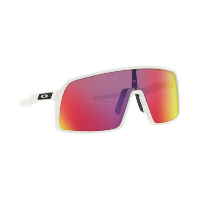 Authentic Oakley Sutro Sunglasses OO9406 06 Matte White Violet Prizm Lens 37mm