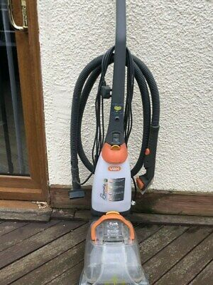 Vax Rapide Deluxe Carpet Washer Used with Hose