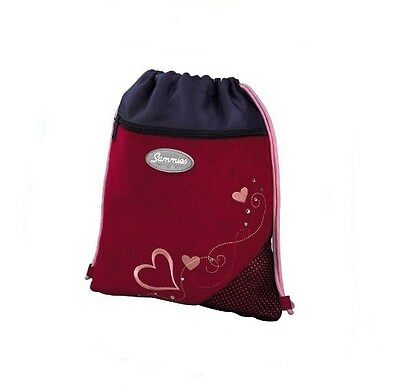 "Sammies by Samsonite® Sportbeutel Turnbeutel Herz ""Heartbeat"" - NEU !"