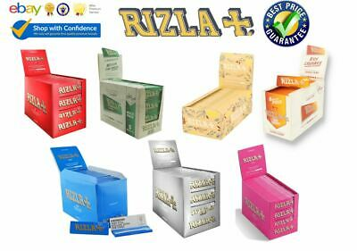 Rizla Green Silver Blue Red Natura Regular Genuine Rolling Papers at Bulk Prices