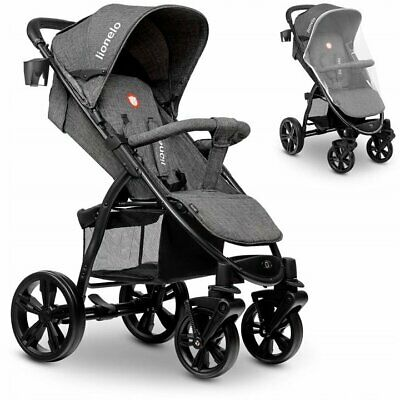 Lionelo Annet Stone Travel Pram Buggy Pushchair Stroller Baby Toddler