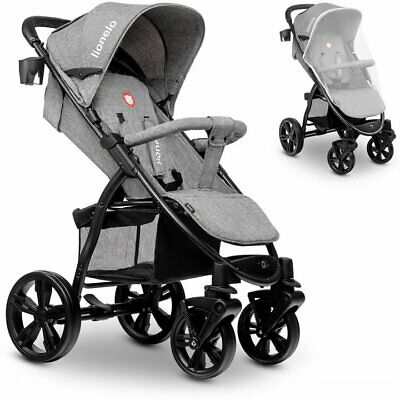Lionelo Annet Concrete Lightweight Pram Buggy Pushchair Stroller Baby Toddler
