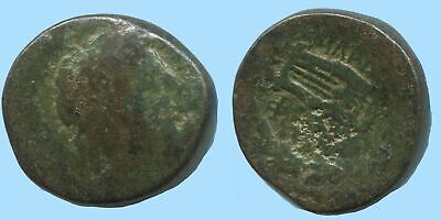 APOLLO KITHARA MUSIC Authentic Ancient GREEK Coin 5g/16mm @AG008.12US