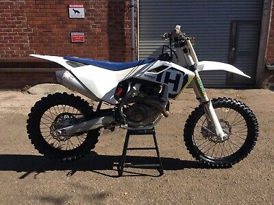 2018 Husqvarna FC450  only 9 hours ride time