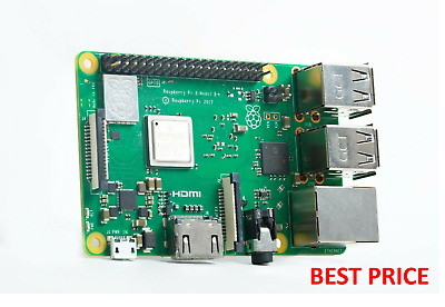 Raspberry Pi 3 Model B+ Plus 1.4GHz Quad Core 64Bit 1GB RAM (2018 Model) RPI 3B+