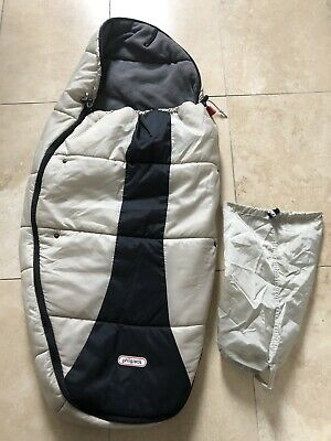 Phil & Ted Snuggle & Snooze Sleeping Bag/Footmuff with bag RRP £75