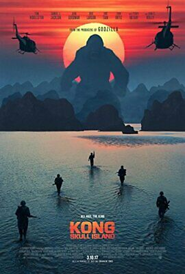 King Kong Skull Island - original DS movie poster - 27x40 D/S FINAL