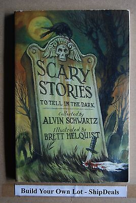 Large Paperback Scary Stories To Tell In The Dark Alvin Schwartz *ShipDeals*