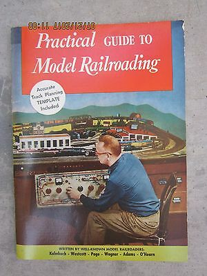 Vintage Practical Guide to Model Railroading 1952 Book Electric Hobby Trains
