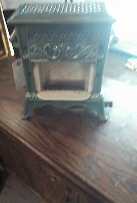 Antique French Enameled Cast Iron FRENCH Foot Warmer SM Heater CHALEOR BREVETI