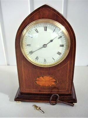 Antique Inlaid French 8-Day Mantel Clock - Restored.