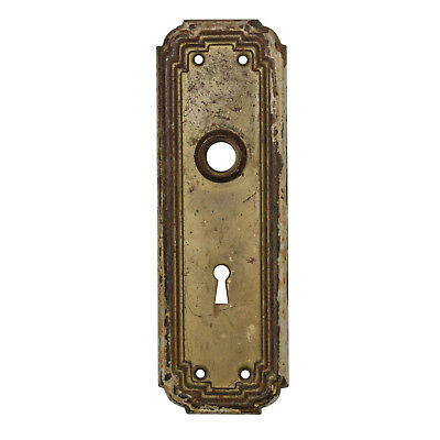 Salvaged Antique Door Knob Backplates, 13 Plates Available, NDP353
