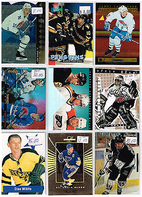 HUGE Lot Of 1994-95 Autos - Rookies - Parallels - Inserts - Base