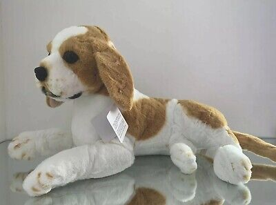 New 57cm Large Setting Beagle Life like Stuffed Animal Dog Soft Plush toy
