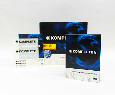 Native Instruments Komplete 8 Collection of 27 Virtual Instruments & Processors