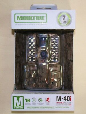 NEW in BOX!  Moultrie M-40i Invisible (No-Glow) Infrared 16MP Game Trail Camera